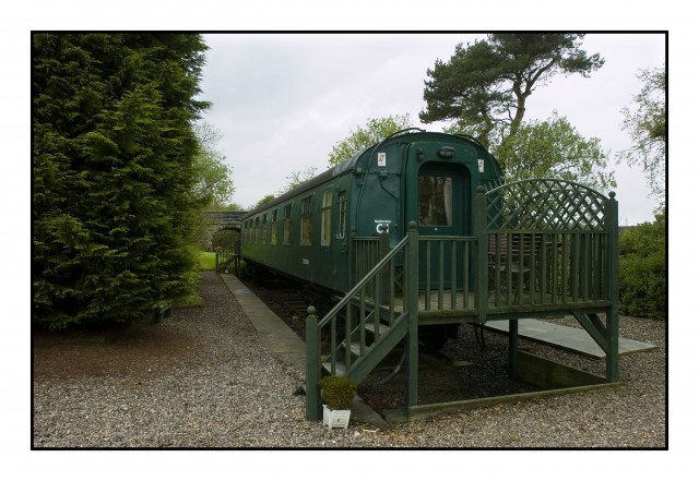 Railway Carriage Suite Double Ensuite With Lounge