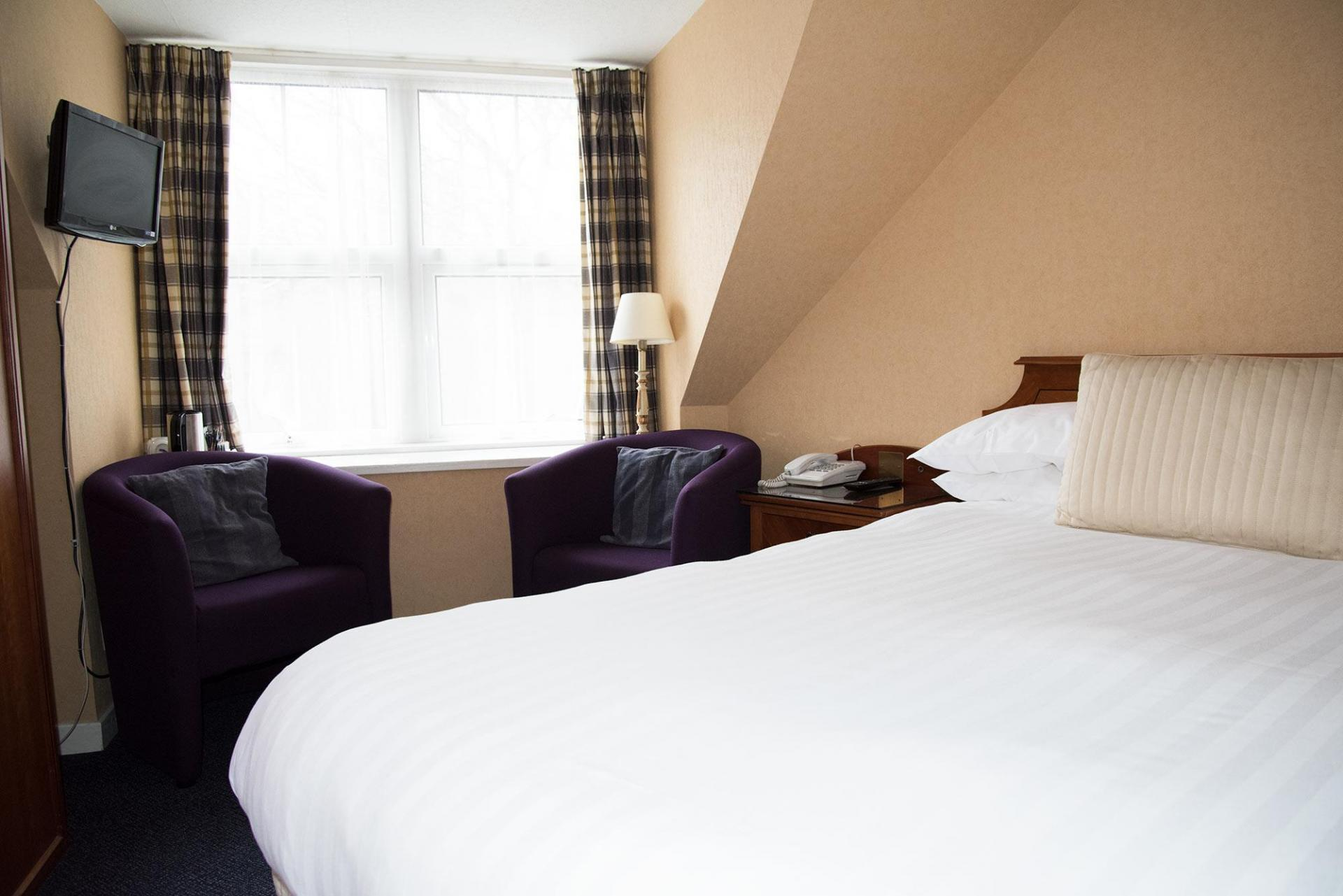 Attic Style Double En-suite Room 2nd Floor No View (inc. Full Cooked Breakfast)