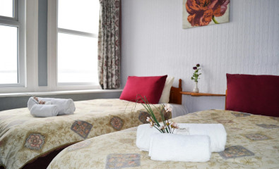 Twin En-suite Room (room Only) Sea View *Non Refundable