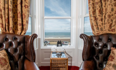 Room 2 - Superior Sea View Double En-suite room with Bay Window (Including Breakfast)