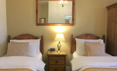 Twin En-suite Room for Sole Use (inc. Breakfast)
