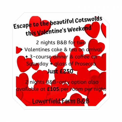 Escape to the beautiful Cotswolds this Valentine's
