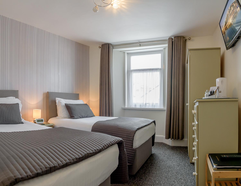 Twin En-suite Room (inc. Breakfast) Non-Refundable