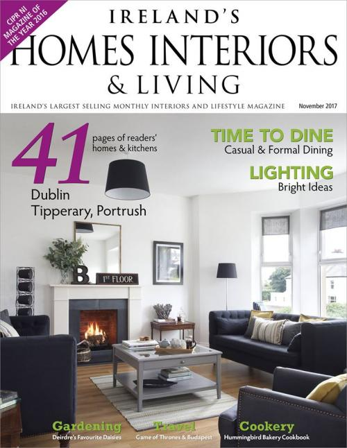 Irelands Homes Interiors and Living Front Cover No