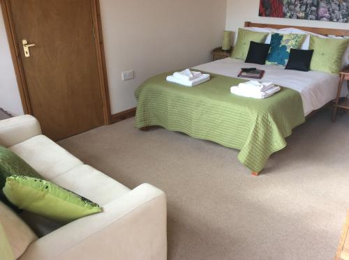 Room 2.Family Room (1 Double, 2 Adults + Sofa Bed, 2 Children Under 10) including breakfast