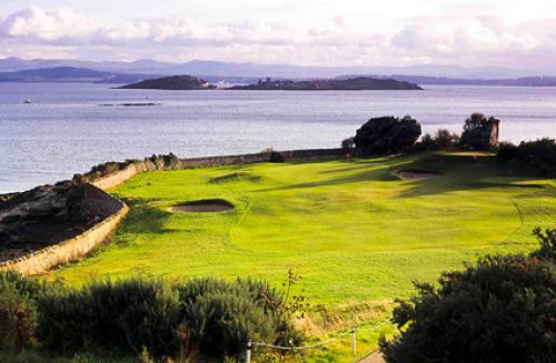 Golfing in Fife Scotland