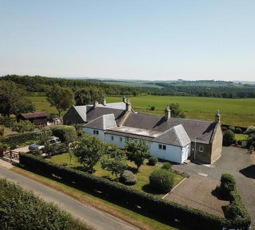 Babingtons Cottage Aerial View