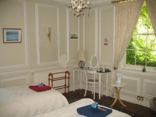 Georgian Twin Room with private bathroom (inc. Breakfast)