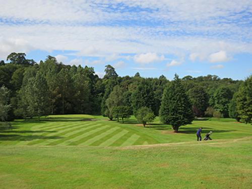 Golf at the Hirsel Country Park Coldstream Scottish Borders