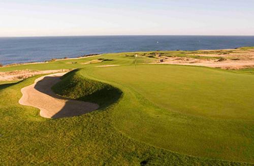 Golfing in Fife Scotland