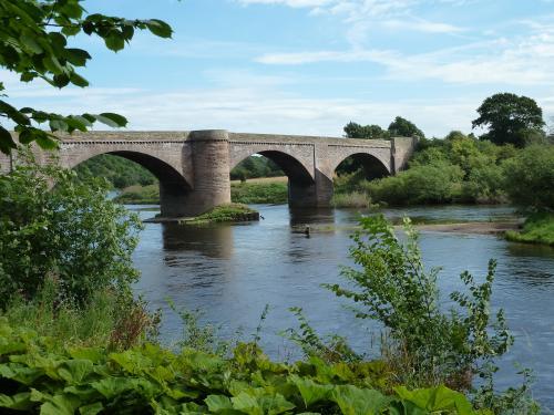 Ladykirk Bridge Norham Northumberland