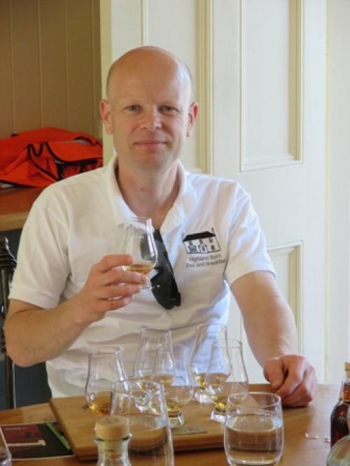 Alistair at Balvenie Distillery