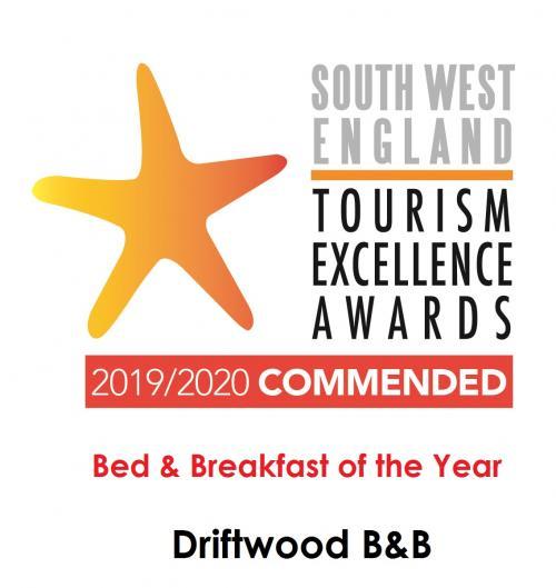 South West Tourism England logo landscape COMMENDE
