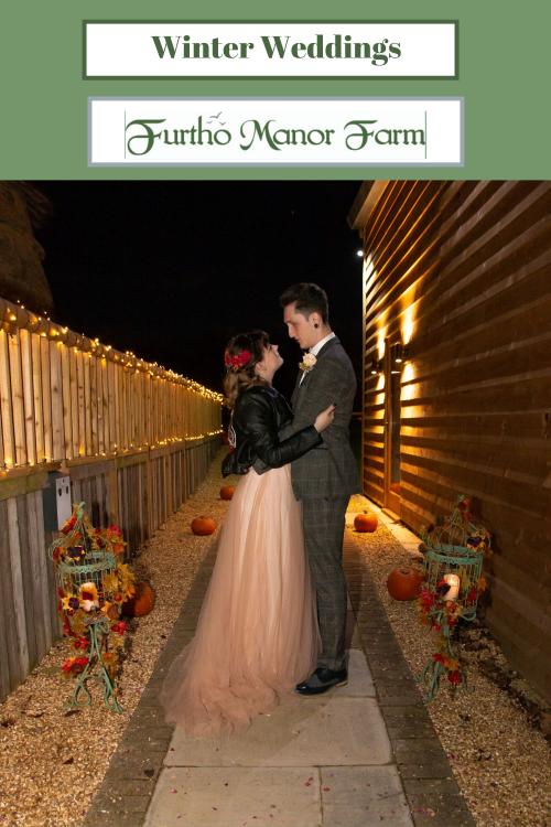 Winter Wedding Blog of Furtho Manor Farm Wedding Venue