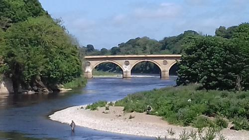 Coldstream Bridge over the River Tweed