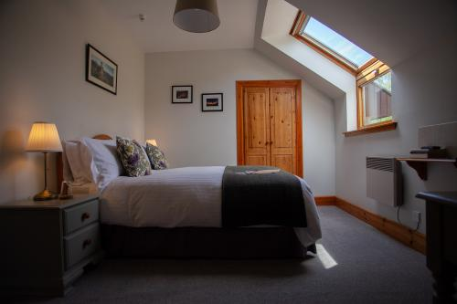 Room 8. A double en-suite room with Hillside Garden view.