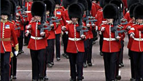 The Coldstream Guards in Coldstream Scottish Borders