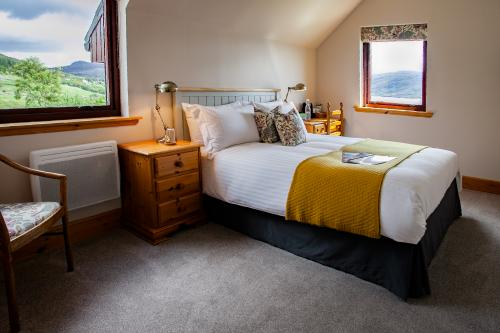Room 2. A double en-suite room with Loch view - one night surcharge.