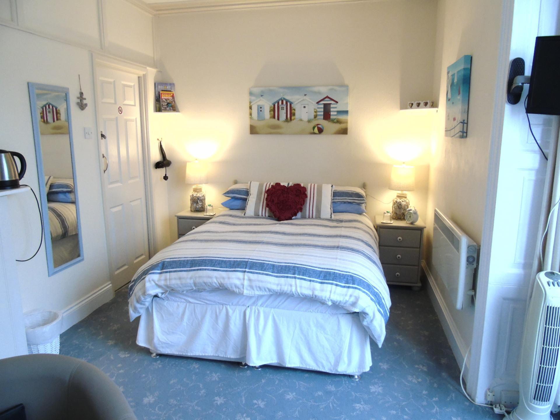 Room 1 - Sea View Double En Suite - 1st Floor