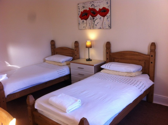 Twin Room ground Floor Single Occupancy(Inc.Breakfast)