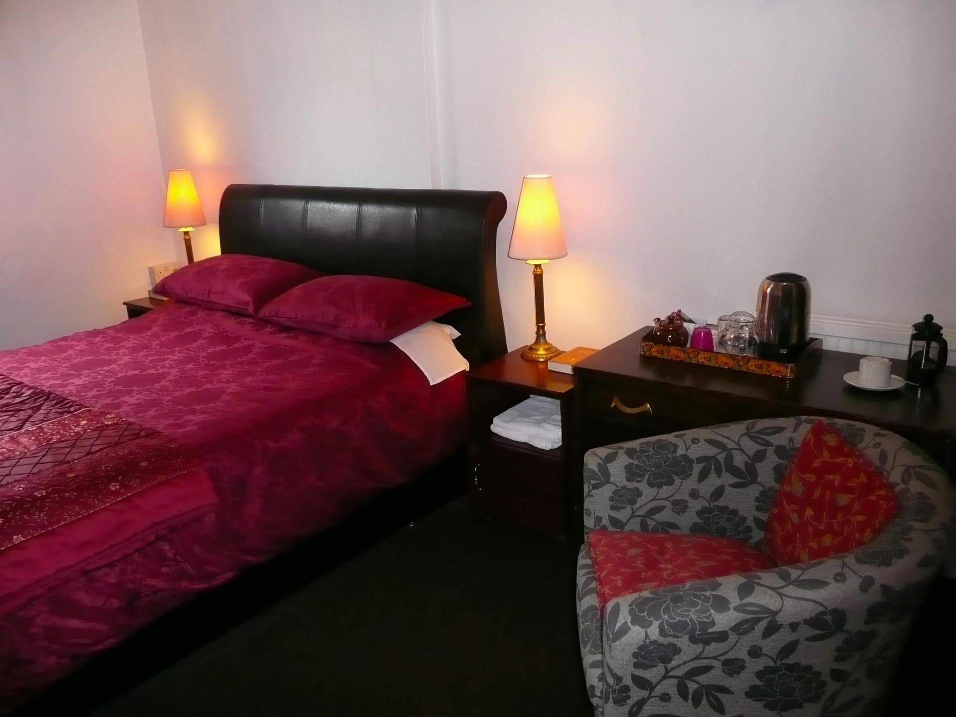 Downstairs Coach House Annexe - Kingsize Annexe Room En Suite Shower Ground Floor. Max 2 People