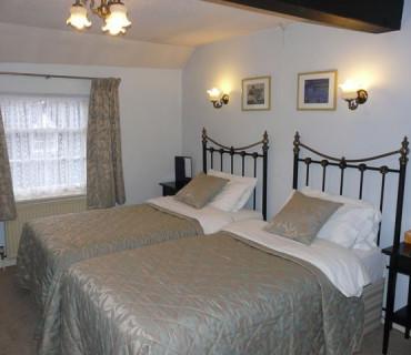 Large Twin room en-suite.