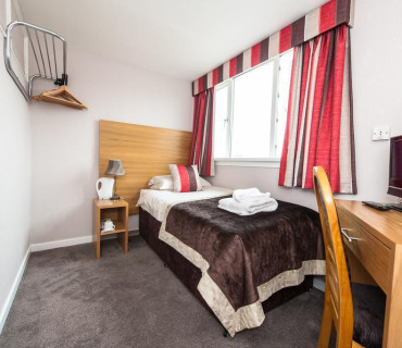 Small Single Room (NOT ensuite) inc breakfast
