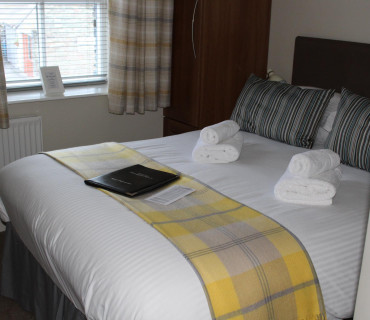 Room 1 - Small Double En-suite ( 2 Adults )