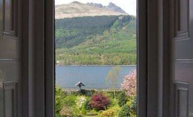Luxurious Loch View Twin suite with En-suite