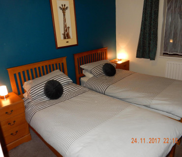 Twin Bedded En Suite Room incl. breakfast.
