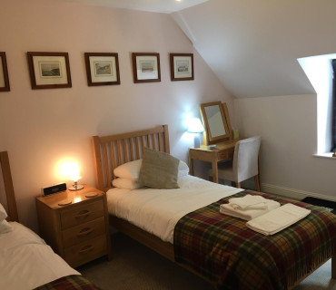 Twin Room (1 person) - en suite (Upstairs)
