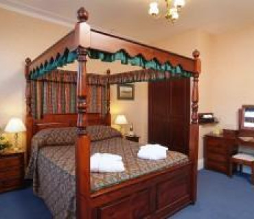Four Poster Room - First Floor - Price includes Breakfast