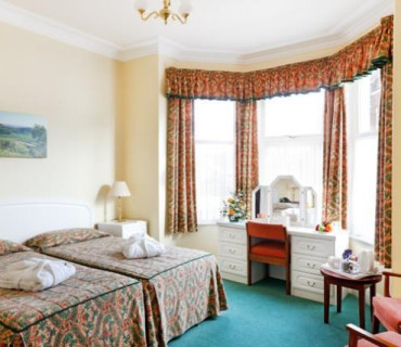 Ground Floor Deluxe Twin Bedded Room - Price Includes Dinner, Bed And Breakfast