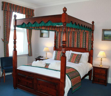 Four Poster Room - First Floor - Price Includes Dinner, Bed And Breakfast