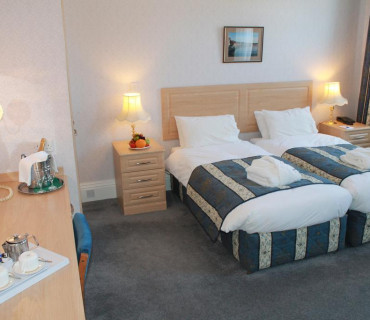 Standard Twin bedded Room - Price Includes Dinner, Bed And Breakfast