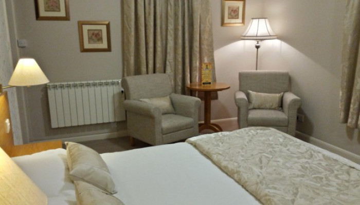 Twin En-Suite Room Only- Without Breakfast Service