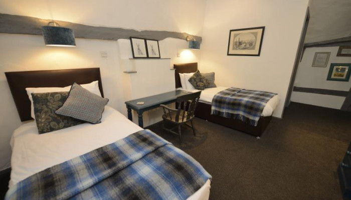 Twin En-suite Room (inc. Breakfast) Room only 6th-17th August 2019