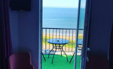 Sea view with balcony Double En-suite Room (inc. Breakfast)