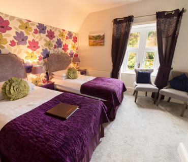Handcuff room - Superior twin en-suite room (inc. Breakfast)