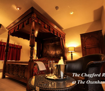 Chagford Superking Four Poster with Breakfast + additional Child Bed & Breakfast