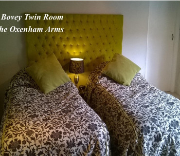 Bovey Room With Twin Beds with Breakfast