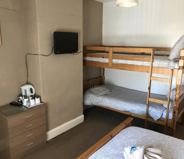 Double Bed & Bunk Bed
