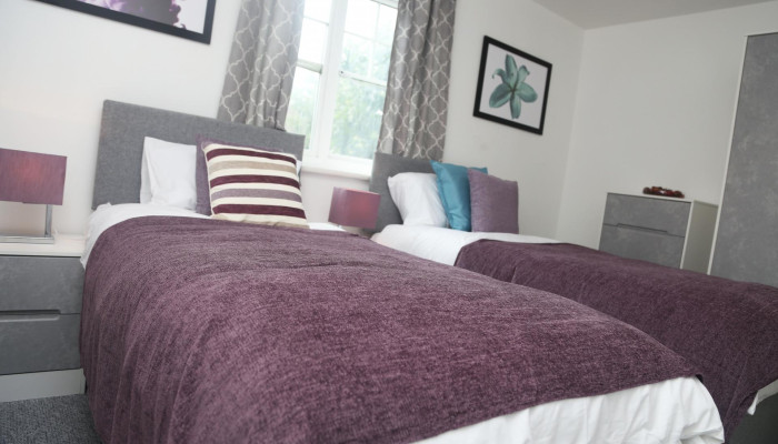 Purfleet - 2 Bed Apartment (Book for 1 adult)