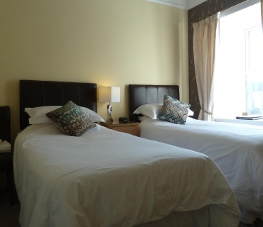 Twin Standard (not en-suite) Room (inc breakfast) Rm 4