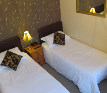 Twin En-suite Room (inc. Breakfast) Rm 3