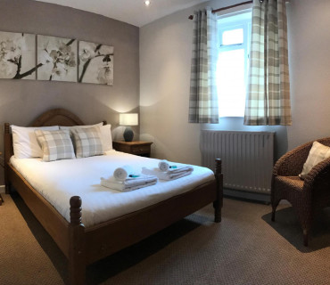 Double En-suite; bed, breakfast and evening meal