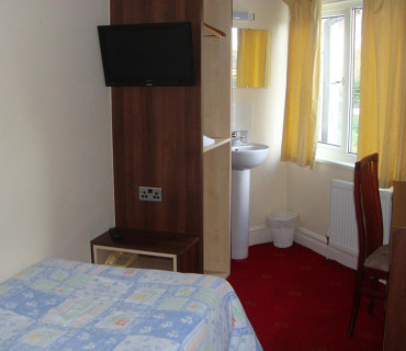 Single Non En-suite Room (room Only)