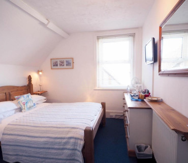 Double Room with South Downs View second floor (inc. Continental Buffet Breakfast)