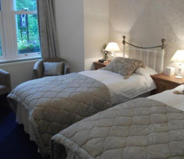 Ground Floor, Twin Beds, En-Suite (Room 1)