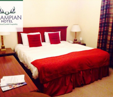 Double En-suite Room (inc. Dinner allowance from evening menu & Scottish breakfast)